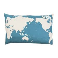 Small Picture Cushions Home Decor Nood NZ world map cushion Our house