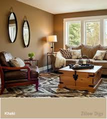 Tan Living Room Custom Design