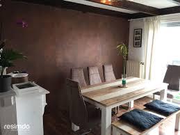 Dekoration Ideen Wandgestaltung Leder Mit Esszimmer Wände