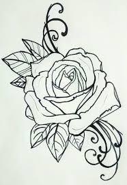 Tattoo Rose вышивка эскиз тату татуировки и тату