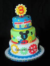 35 Marvelous Photo Of Mickey Mouse Clubhouse Birthday Cakes
