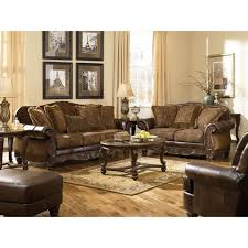 fresco durablend antique living room set by ashley furniture 63100 living room furniture