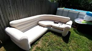 blow up furniture. Intex Blow Up Sectional Furniture U