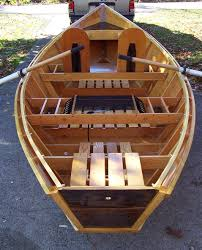 wooden fly fishing boat designs