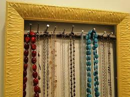 Wall Jewelry Organizer Wall Mounted Jewelry Organizer Jen Joes Design 3 Top Diy