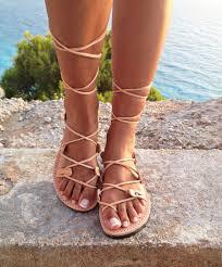 leather sandals gladiator sandals greek leather lace up sandals handmade sandals