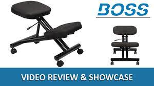 ergonomic kneeling office chairs. Ergonomic Kneeling Stool / Kneel Office Chair - Boss B248 DigitalBuyer.com Chairs