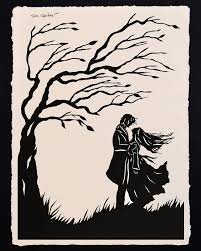 best wuthering heights images wuthering heights wuthering heights 2016 papercut picture by tina tarnoff contemporary