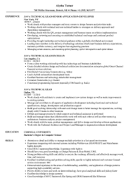 Sample Resume For Technical Lead Awesomemple Resume For Technical Lead Java Tech Experienced Team 2