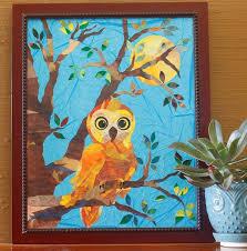 sweet owl art print for child s room