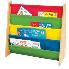 childrenskids wooden bookcase rack storage bookshelf tidy