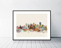 Small Picture Edmonton skyline Etsy