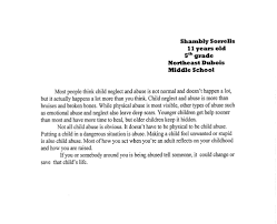 child abuse prevention awareness essay and drawing winners  shambley sorrells grand prize 50 cash northeast dubois middle school