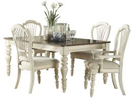 Hillsdale Dining Table Hillsdale Pine Island Round Dining Table Old White 5265dtb
