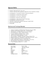 Proficient In Microsoft Office Resume Cover Letter Samples Cover