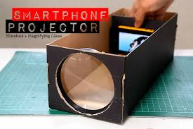 picture of build a smartphone projector with a shoebox
