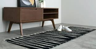 black and white chevron rug ikea large size of a wool runner in black and white