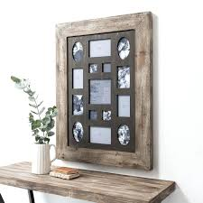 rustic picture frames collages.  Rustic Brown Collage Picture Frames Multi Photo Frame Rustic Timber  Wood On Rustic Picture Frames Collages