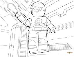 Small Picture LEGO Green Lantern Coloring Page Printable Sheet LEGO DC