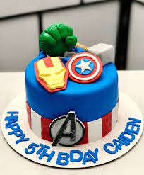 Have a spectacular birthday party with this marvel comics themed cake. Avengers Cake Design Images Avengers Birthday Cake Ideas