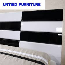 black modern bedroom furniture. White And Black Modern Beds Hot Selling Simple Bed For Bedroom Furniture  Set-in Beds From Furniture On Aliexpress.com   Alibaba Group E
