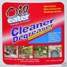 Oil Spill Cleaner Degreaser 1 Gallon Garage Concrete