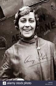 Amy Johnson CBE (1 July 1903 – 5 January 1941) pioneering English Stock  Photo - Alamy