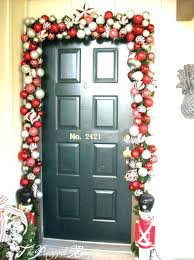christmas front door decorationsFront Doors  Front Door Decorating Ideas For Spring 2 Home Front