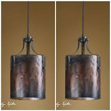 pendant lighting rustic. Image Is Loading TWO-16-034-COPPER-FINISH-HANGING-PENDANT-LIGHTS- Pendant Lighting Rustic S