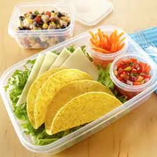 Taco Bento Boxes Recipe | Land O\u0027Lakes