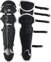 Wilson C1k Wta4602 Intermediate Baseball Catchers Gear Set