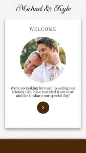 Same Sex Wedding Websites By Appy Couple The Destination