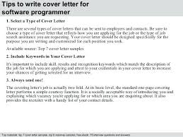 Computer Programmer Cover Letter Wlcolombia