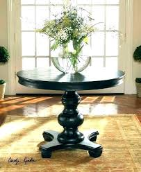 round hall table entry height