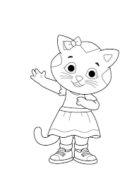 Printable Daniel Tiger Coloring Pages For Girls 239 Get Coloring Page