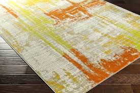 orange and green rug orange and green area rugs olive gold burnt orange lime light grey