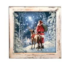 Lighted Christmas Artwork