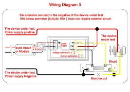 2in1 ammeter voltmeter dc 0~100v 50a voltage current meter dual defi link gauges at Defi Meter Wiring Diagram