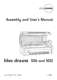 assembly and user`s manual 506 and 5012 Tanning Bed Ballast Wiring Diagram Diagram for Tanning Bed and Bulbs