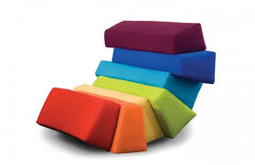 colorful furniture. Colorful Furniture With All The Colors Of Rainbow