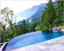 backyard infinity pools. Small Infinity Pools Landscape Backyard Pool Design Astonishing Decoration