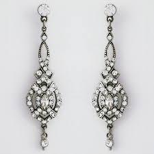 small vintage chandelier earrings