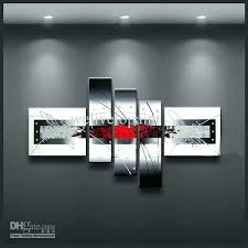 black and red canvas art black and red wall art framed 5 panels black white and black and red canvas art  on wall art black white and red with black and red canvas art red black and white canvas art wide large