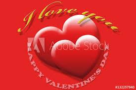 Carte De St Valentin Carte De Voeux St Valentin Buy This Stock Illustration And