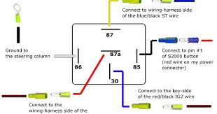 car relay wiring diagram 5 Wire Relay Wiring Diagram wiring relay diagram 5 wire relay wiring diagram for hei ignition