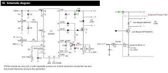 electric generator diagram. Interesting Generator PWM Power Module Schematic Inside Electric Generator Diagram
