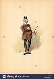 character from david copperfield stock photos character from  mr micawber 1889 dickens david copperfield character by kyd joseph clayton clarke stock