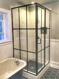 charming rain glass shower door frameless bronze framed glass shower enclosure this is a bit of