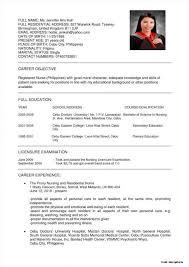 Template Registered Nurse Resume Template Tgam Cover Letter Sample