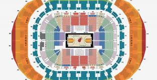 Aaa Miami Heat Seating Chart American Airlines Arena Heat Seating Chart
